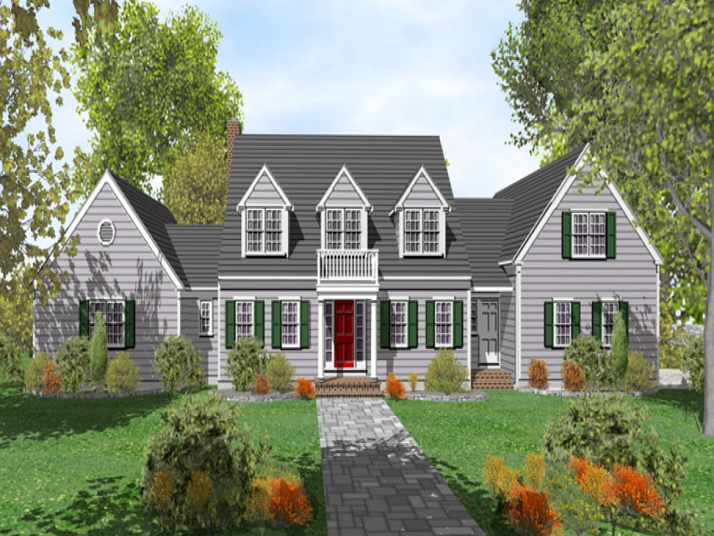 Cape cod house plans cape cod house floor plan cape cod for Cape cod beach homes