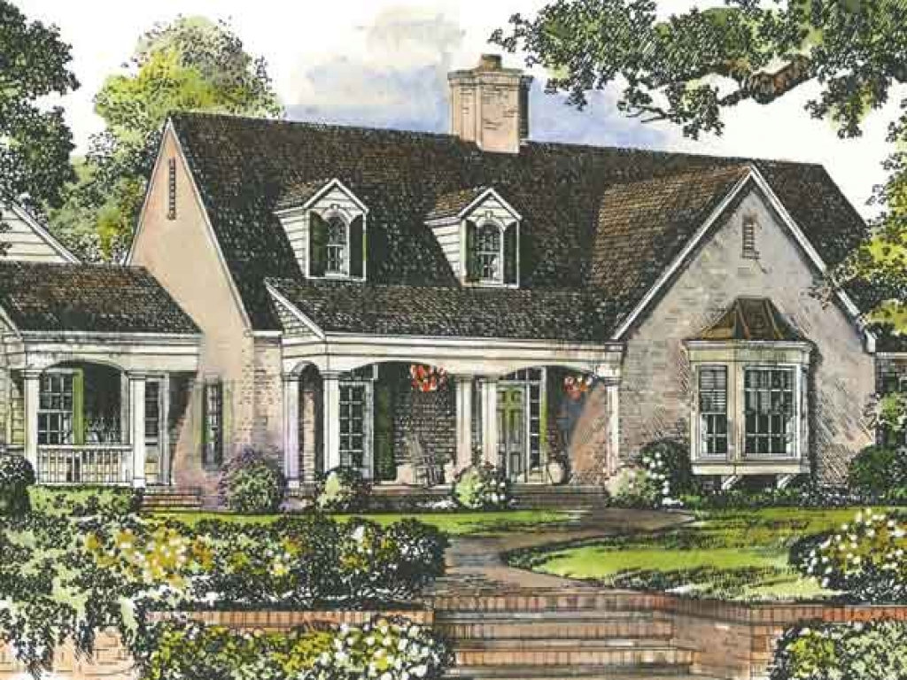Cottage house plans southern living southern living for Southern living house plans with keeping rooms