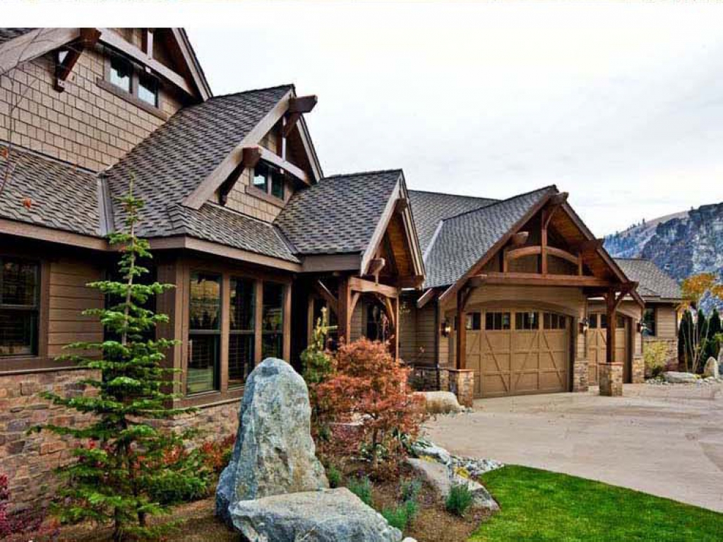Craftsman style timber frame house plans contemporary for Contemporary timber frame home plans