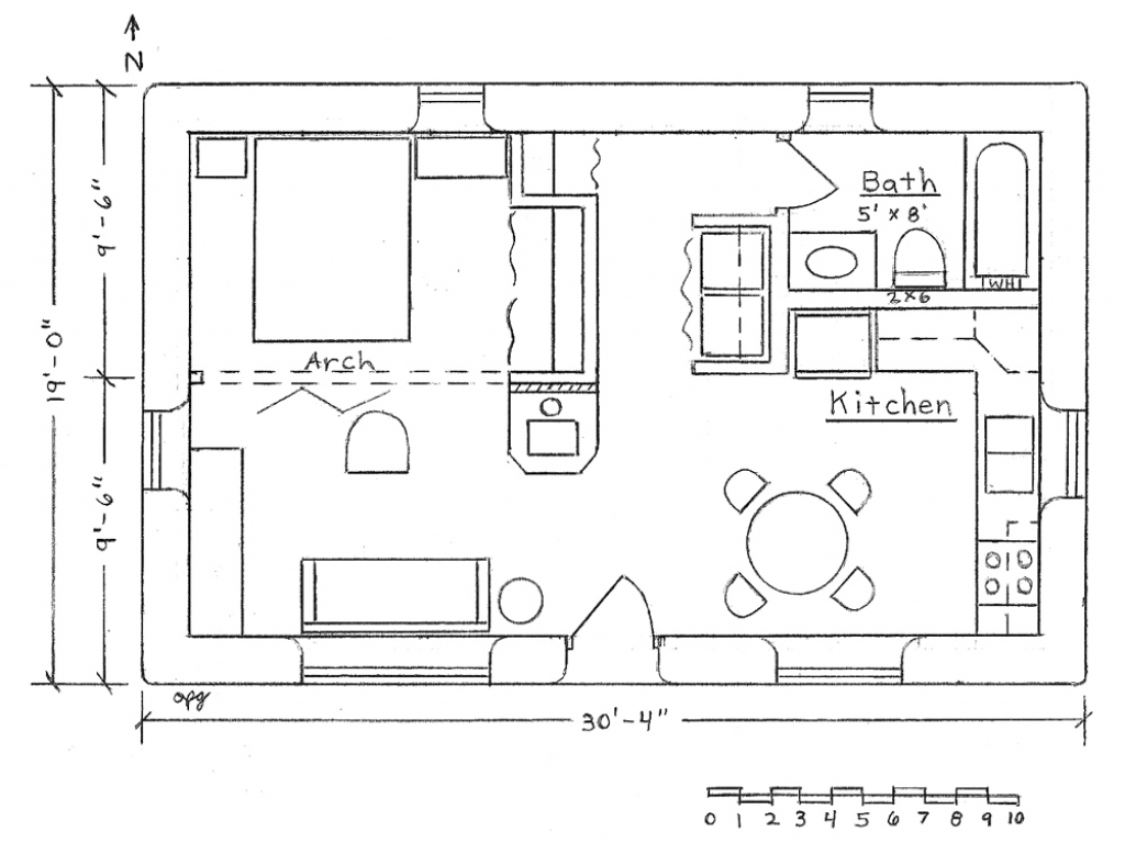 Free small house plans blueprints free small house plans for Diy floor plans