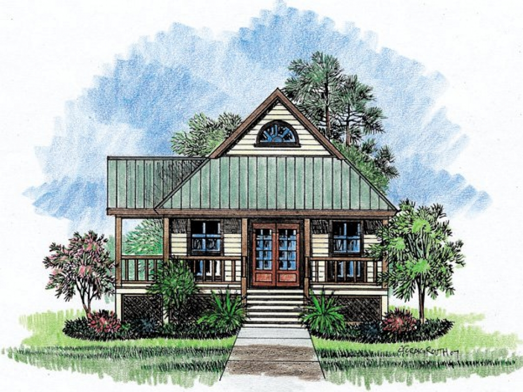 Louisiana house plans dog trot louisiana acadian style for Louisiana style home designs