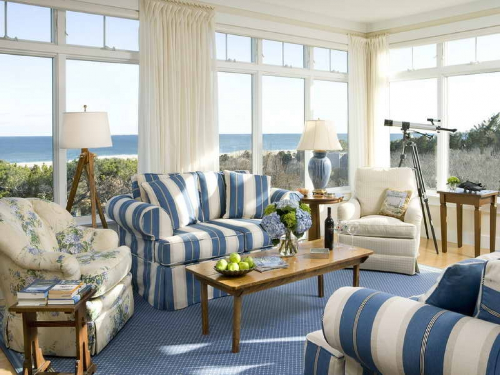 Plaid furniture country living room country living room for M s living room ideas