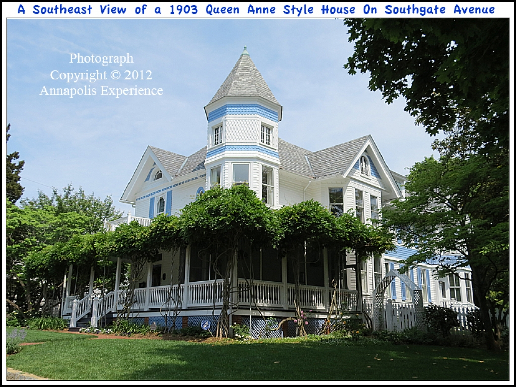 Queen anne craftsman house queen anne craftsman style for Ranch style homes in maryland