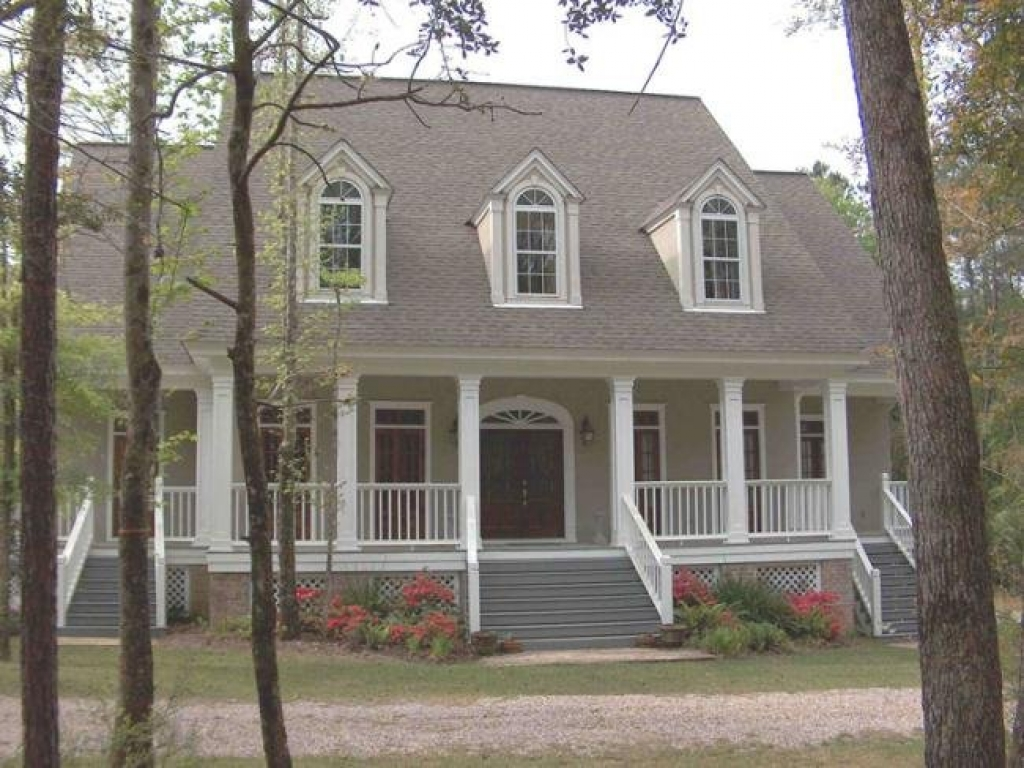 Southern Front Porch House Plans Sitting On The Front