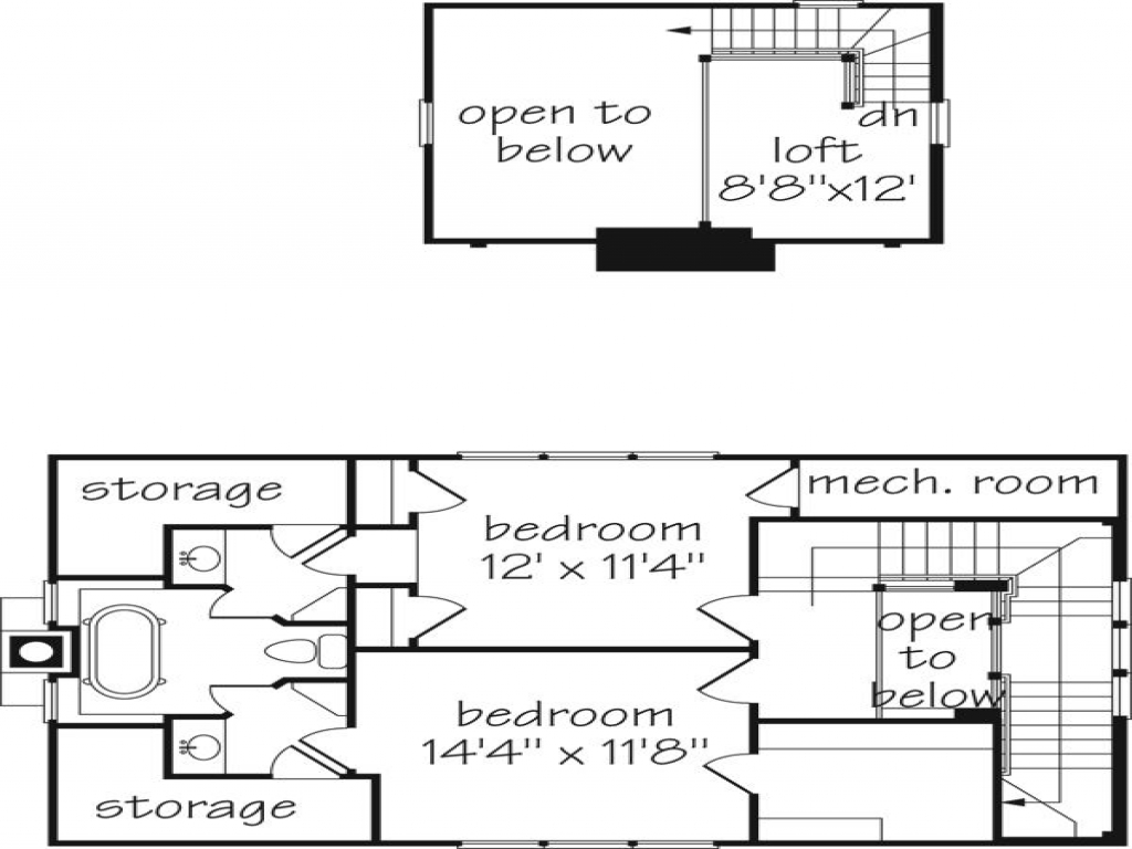 Southern lifestyle homes floor plans floor plan southern living cottage of the year southern - Floor plans southern living set ...