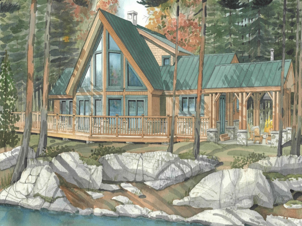 Timber Frame Home House Plans Timber Frame Cabins Cozy