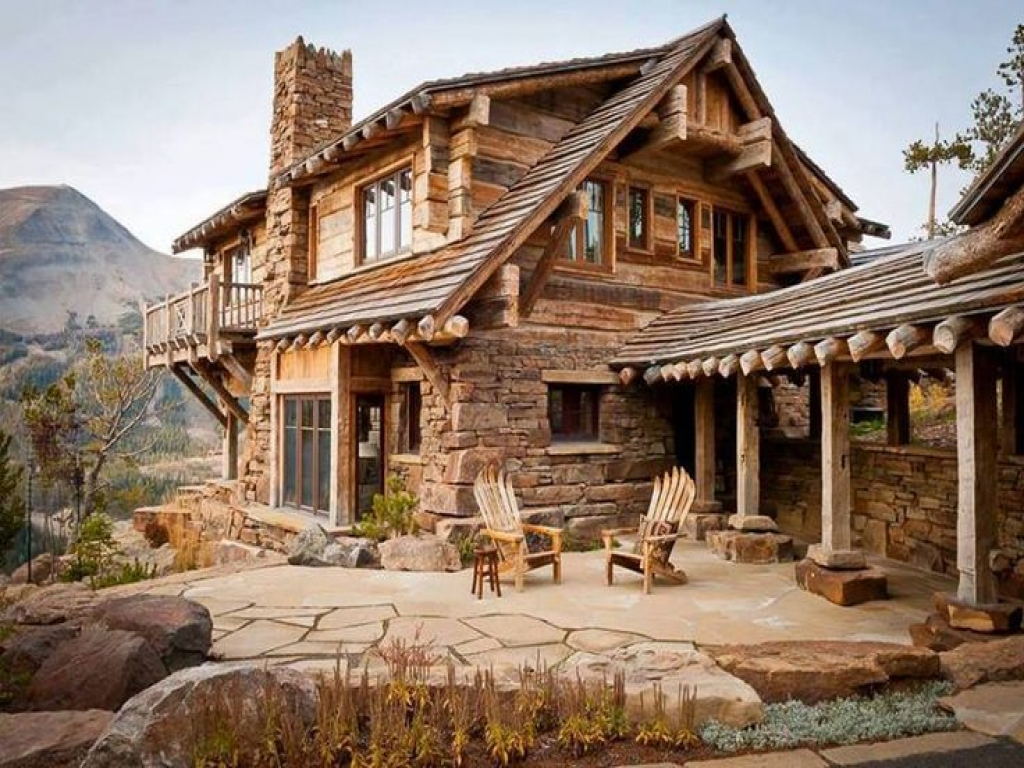 Tiny Home Designs: Beautiful Rustic Cabin Beautiful Old Log Cabin, Wood Cabin Plans