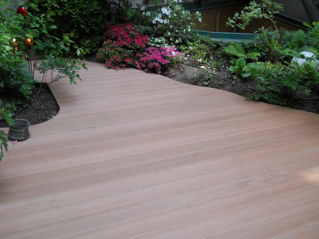 Composite decking material colors composite decking for Best composite decking material