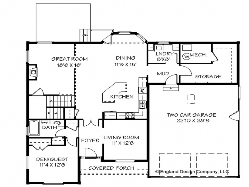 Custom 2 story house plans 2 story house plans small for Custom house blueprints