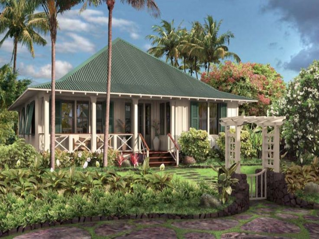 Hawaiian plantation style house plans tropical style house for Tropical style house plans