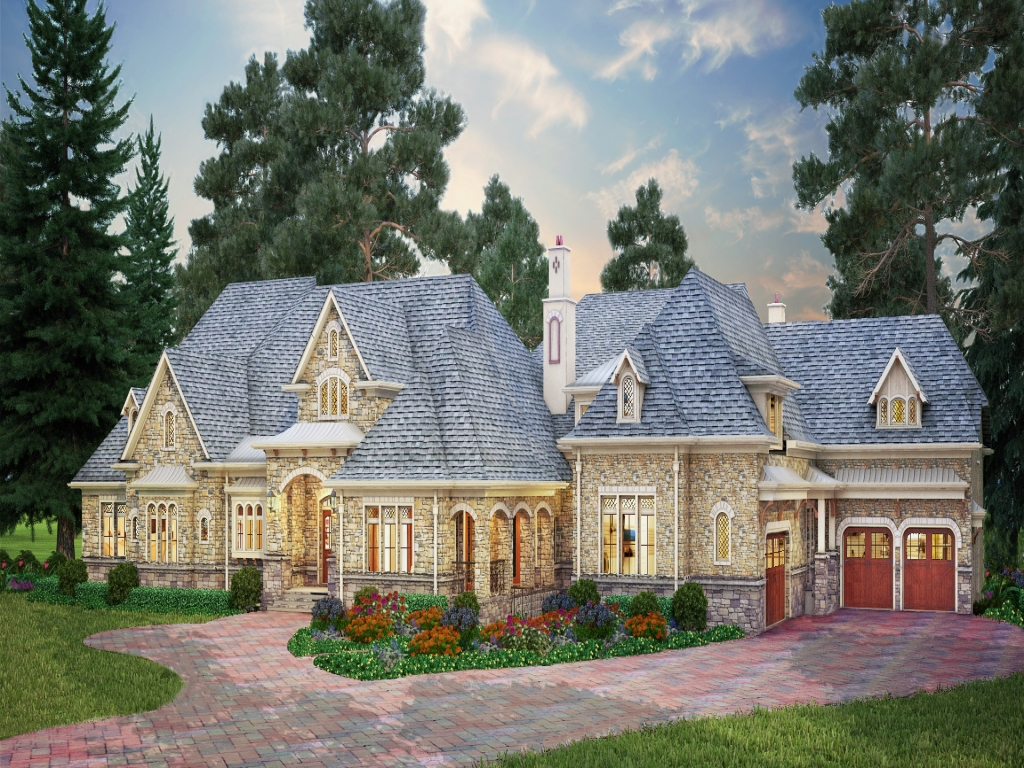 Luxury architectural house design plans architectural for New home designs canada