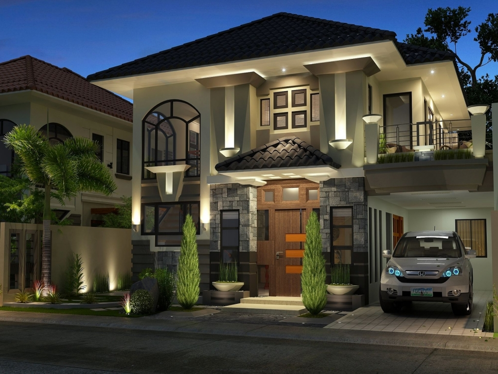 modern house design philippines manila small house design philippines lrg 7af5d0b2b409cd23 - View Modern And Best Small House Designs In The World  Pictures