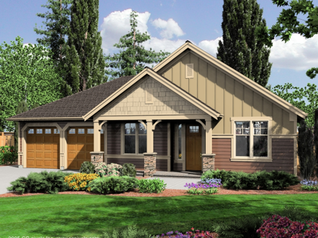 Rustic craftsman style house plans craftsman mountain for Rustic craftsman house plans
