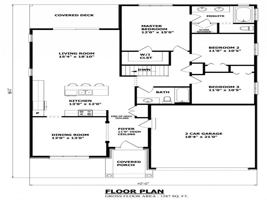 Bungalow House Plans Canadian House Plans Bungalow House