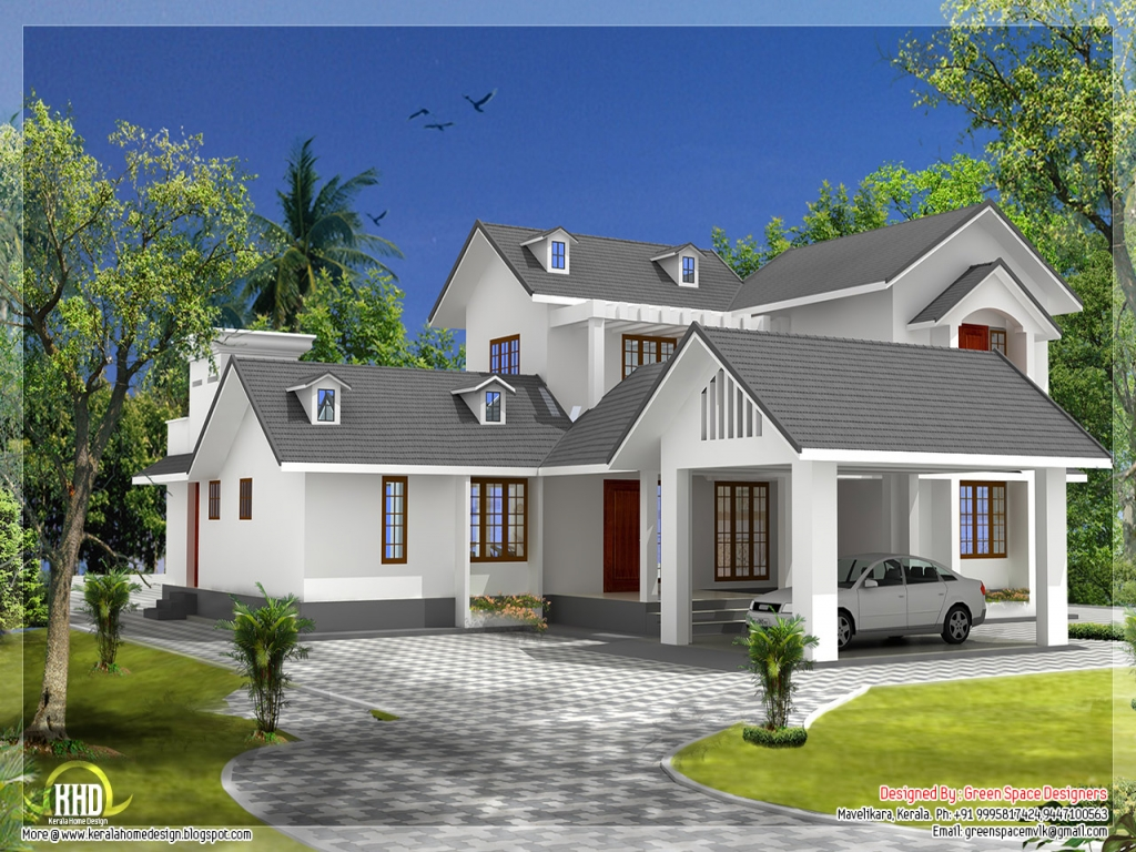 Gable Roof House Designs Open Gable Roof House Design 7