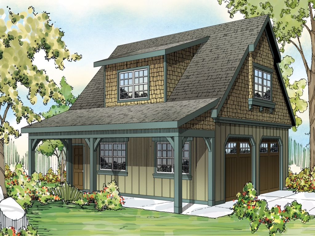 Front Elevation East Facing : Single story craftsman house plans