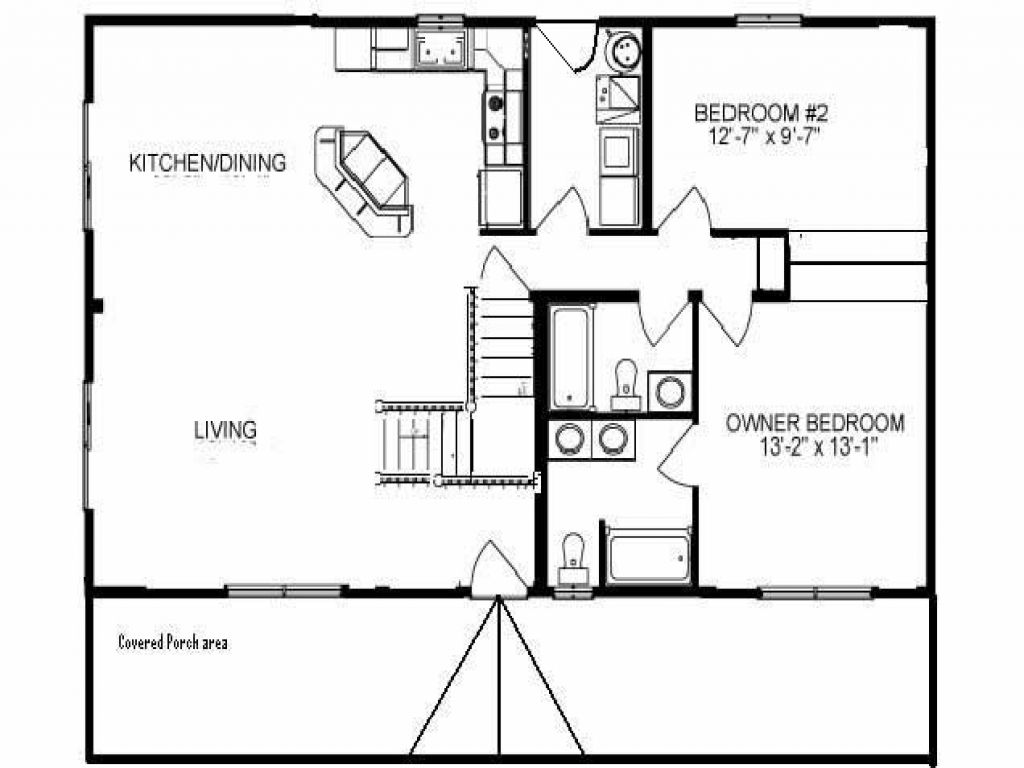 Small rustic cabin floor plans small rustic cabins house for 1000 sq ft cabin floor plans