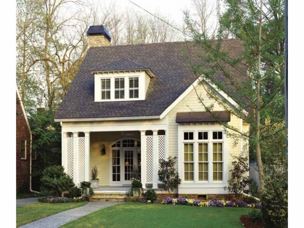 Southern cottage bungalow house plans small cottage house for Eplans cottage house plan