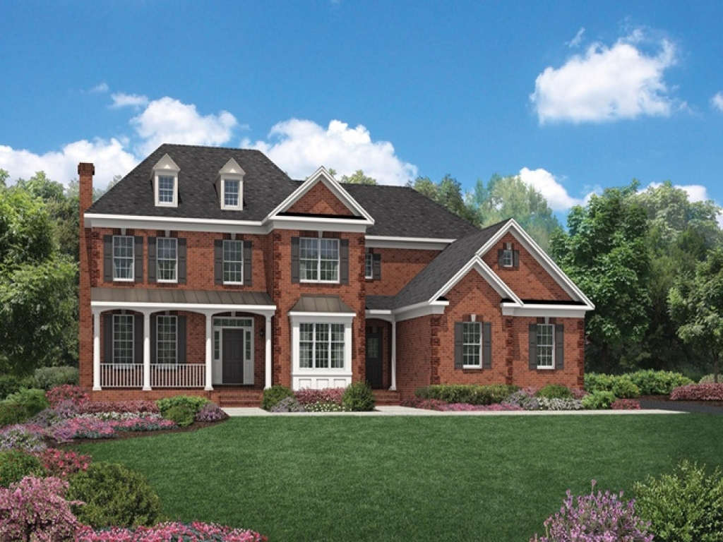 Decorated Model Homes: Toll Brothers Model Homes Toll Brothers Decorated Model