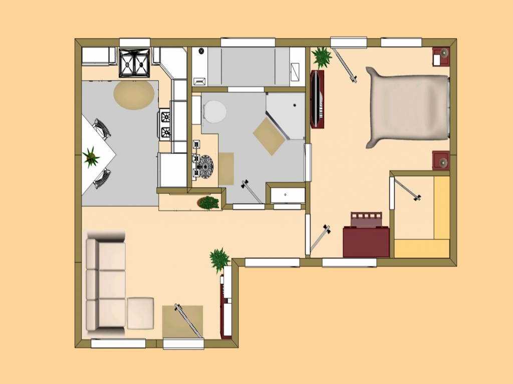 Cute small house plans small house plans under 1000 sq ft for Small cozy house plans
