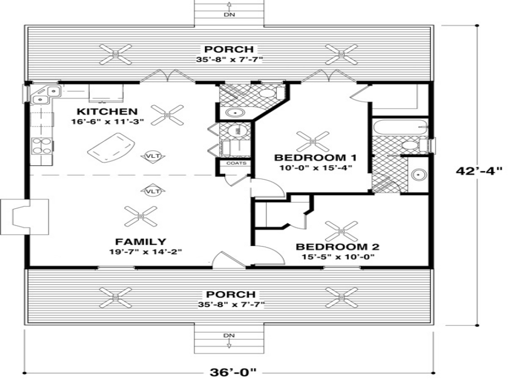 Small cottage house plans small house floor plans under for 1000 sq ft ranch house plans