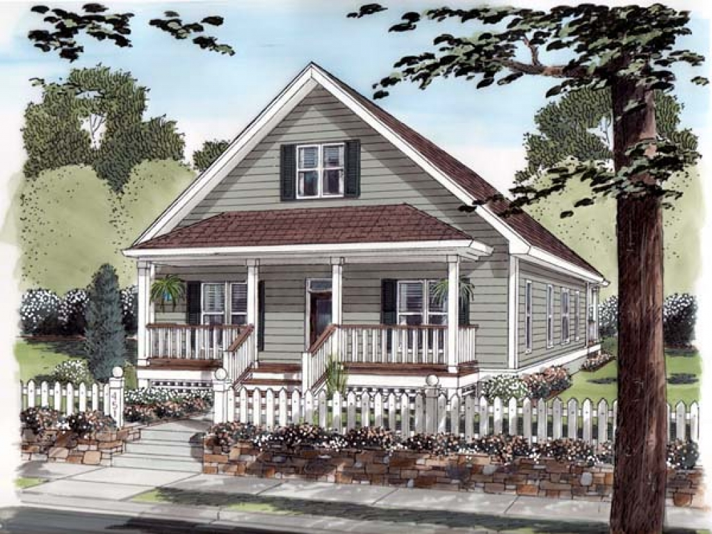 Southern house plans small cottage small cottage house for Southern cottage style house plans
