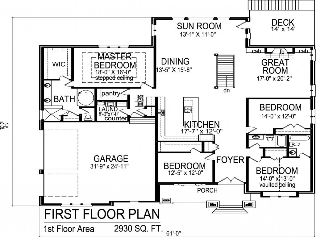 Unique 4 bedroom house plans 4 bedroom bungalow house for 4 bedroom luxury house plans