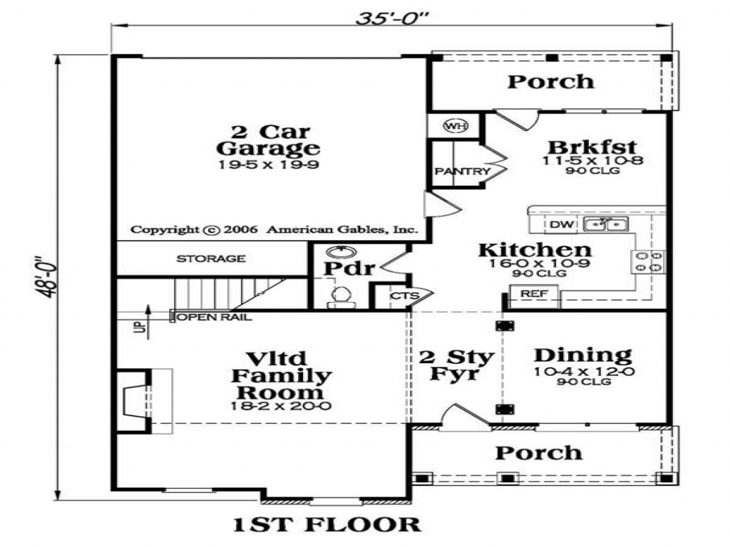 Piggery Floor Plan Design 2 Level House Plans Small Two Story Home Plans Bunggalo