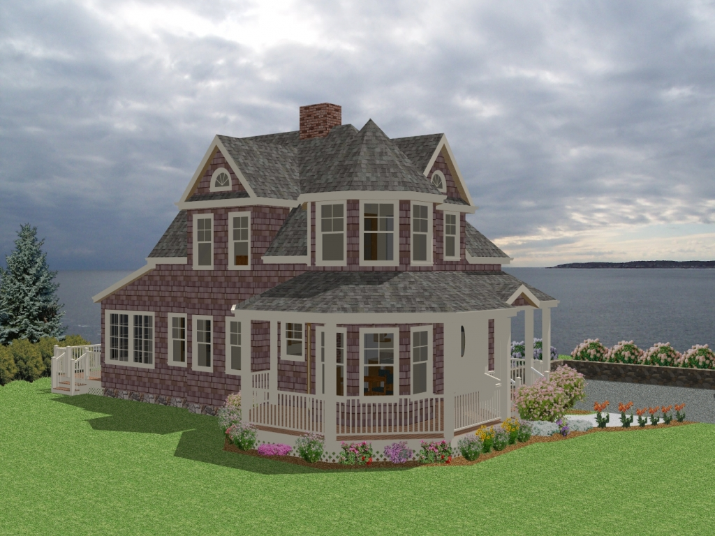 Antique new england farmhouses new england cottage house for New england country homes floor plans