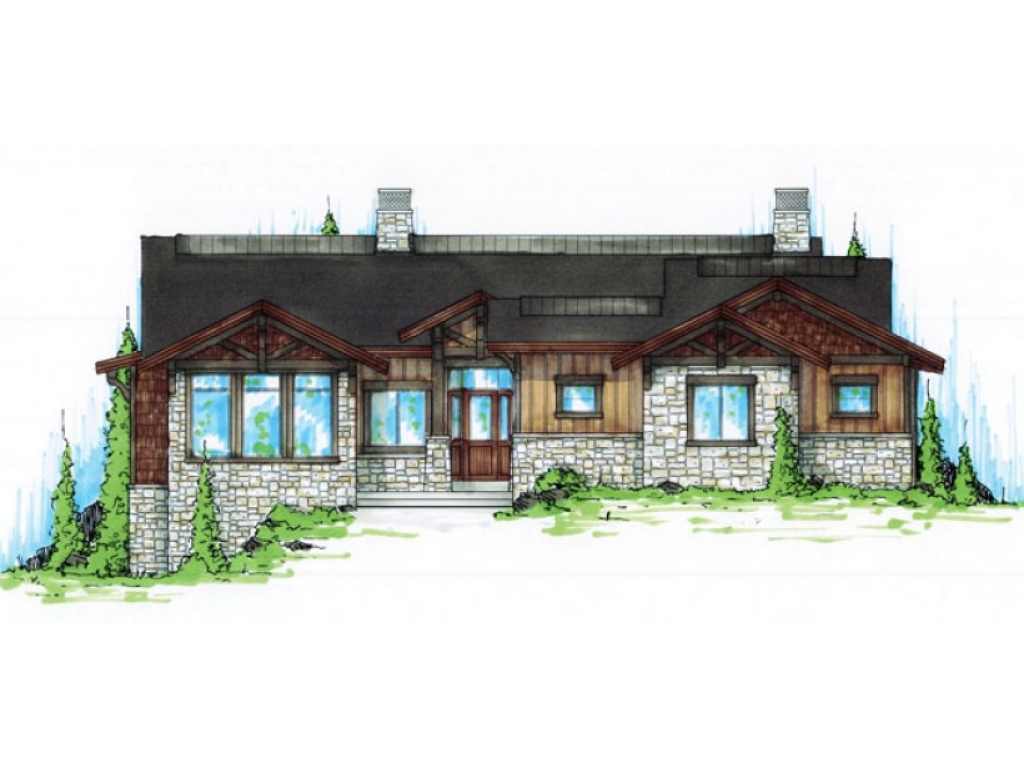 Best craftsman house plans craftsman house plans with for Craftsman house plans one story with basement
