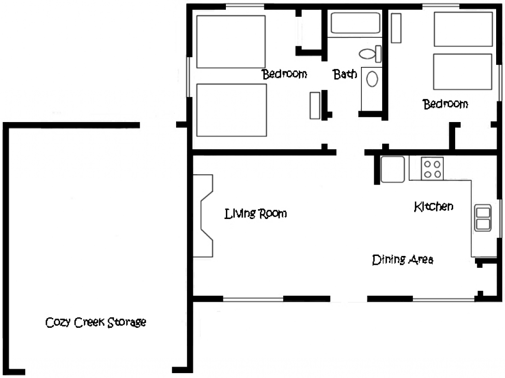 Cottage floor plan cottage floor plans with loft plan of for Cottage floor plans with loft