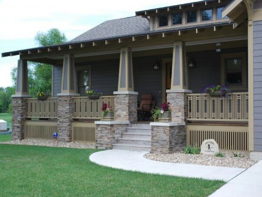 Craftsman style homes craftsman design pinterest ranch for Craftsman style log homes