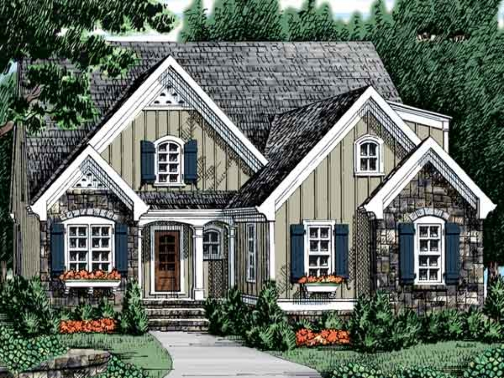 Farmhouse southern living house plans southern living for Southern living house plans with keeping rooms