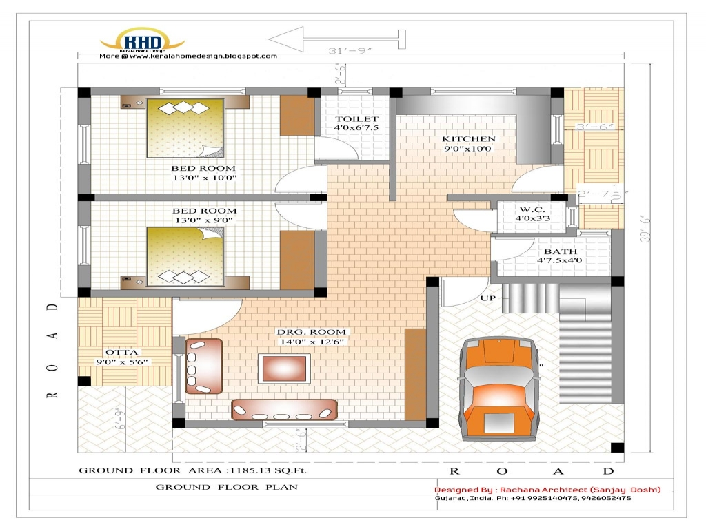 Indian home plan indian house floor plan house plans in for Blank floor plan grid