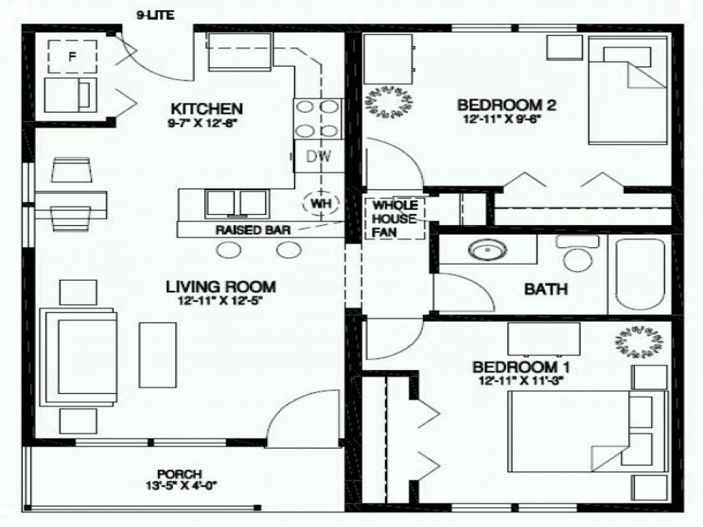 One Story Craftsman Bungalow House Plans Craftsman One