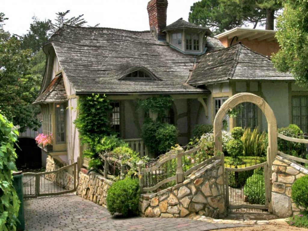 Snow White Cottage Carmel California Cottage House In