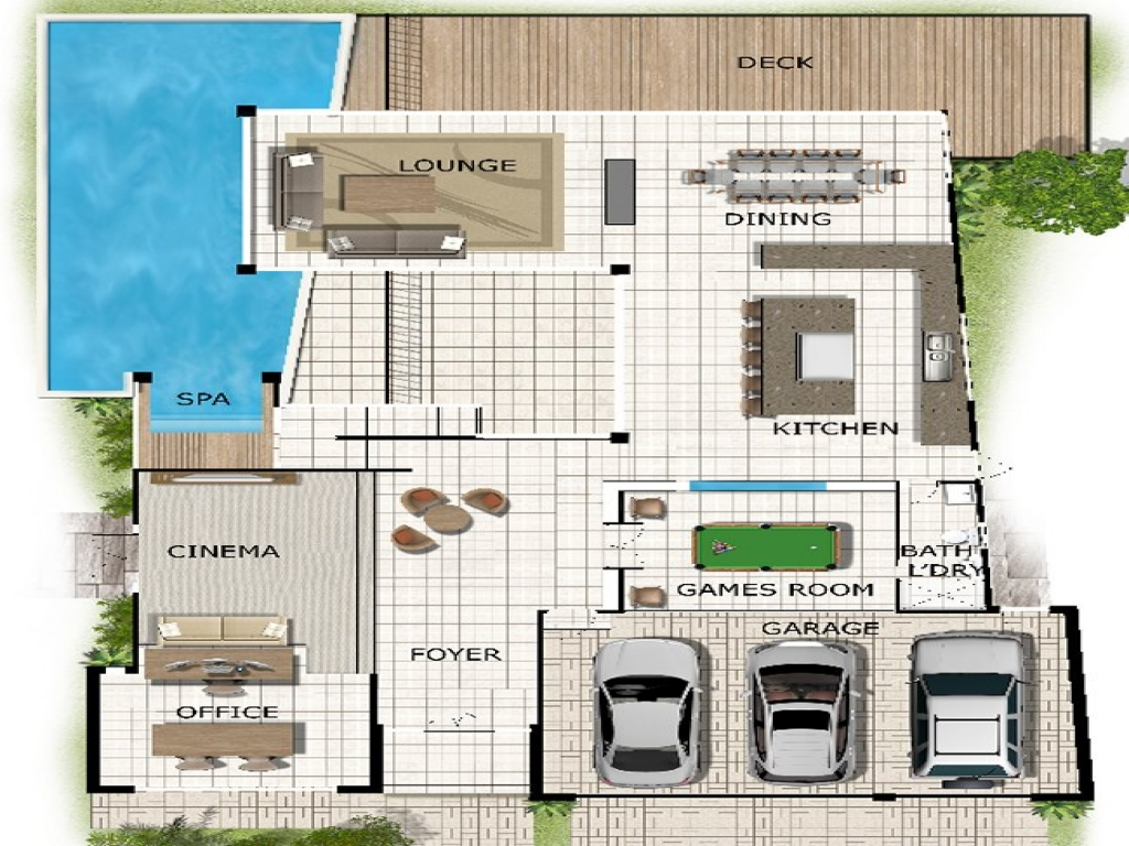 Two Story House Plans Waterfront Waterfront House Plan