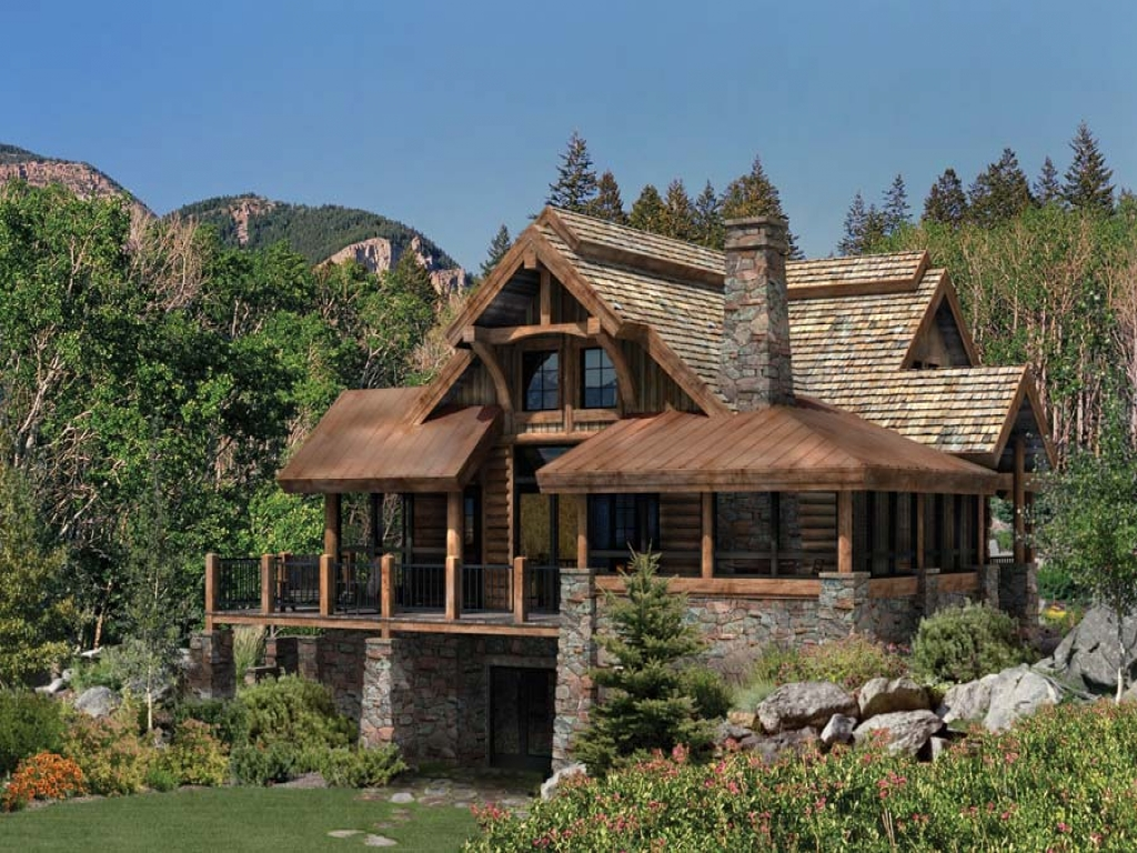Best log cabin home plans country 39 s best log homes huge for Best log cabin homes