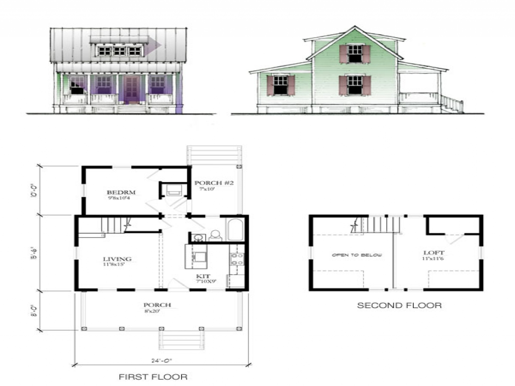 Home Depot Katrina Cottages Katrina Cottage Floor Plan