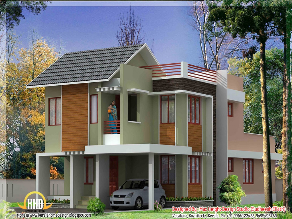 Kerala House Plans And Elevations : Kerala model house plans designs and