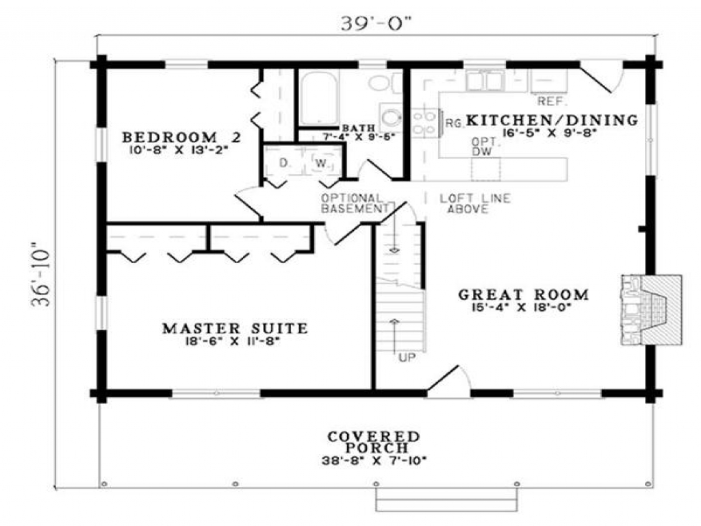 Rustic log cabin wood floors small log cabin floor plans for Hardwood floors 600 sq ft