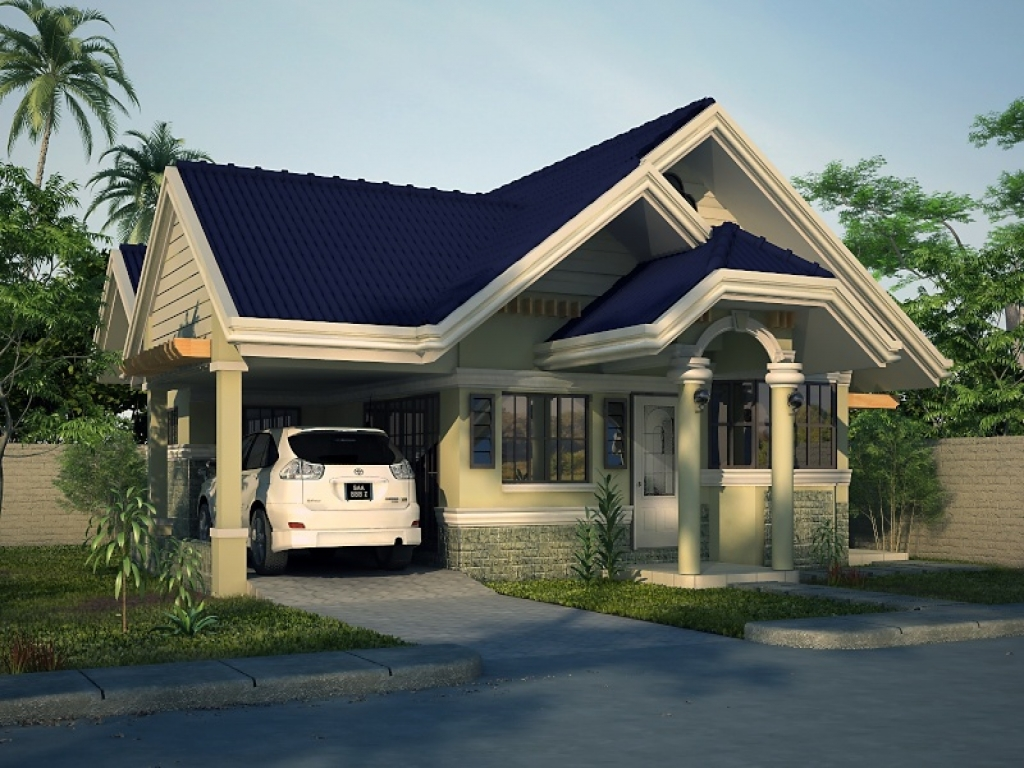 2 Bedroom House Simple Plan Simple House Bungalow Design ...