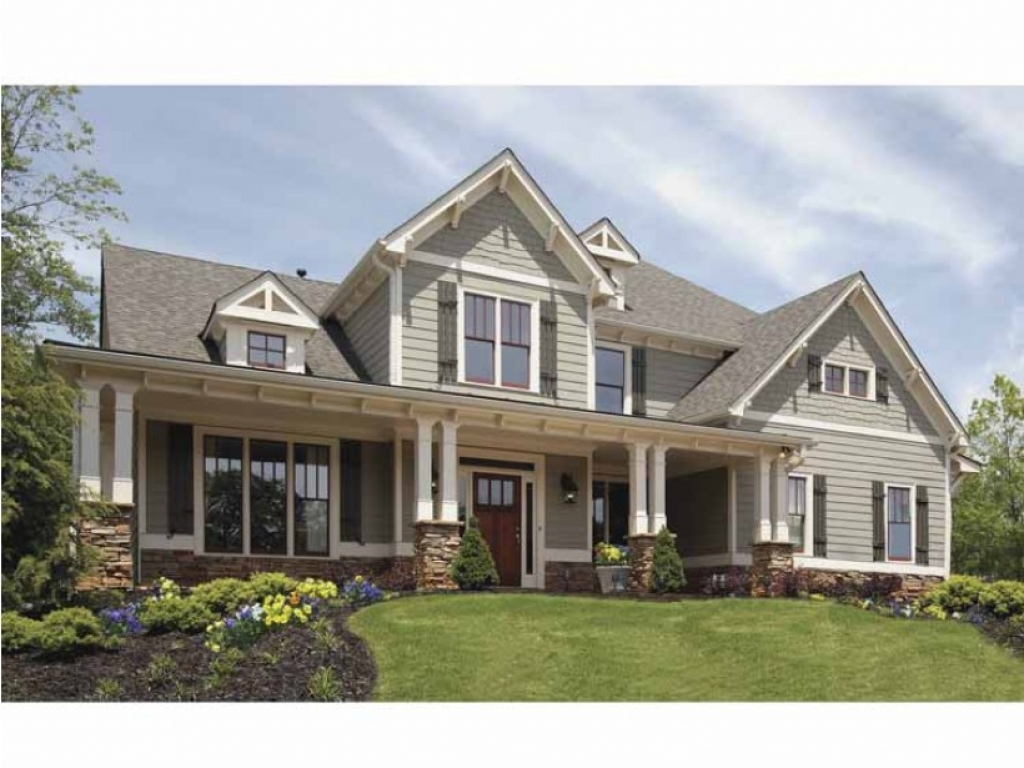 craftsman house plans with porches craftsman house plan with front porch best craftsman house 23391