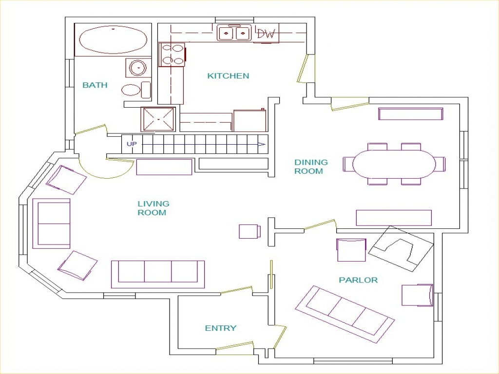Floor plans with bedrooms downstairs medium size bedroom for Medium sized home plans