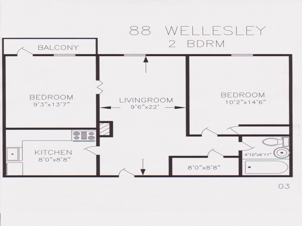 How Big Is 800 Sq Ft 800 Sq Ft 2 Bedroom Floor Plans 850