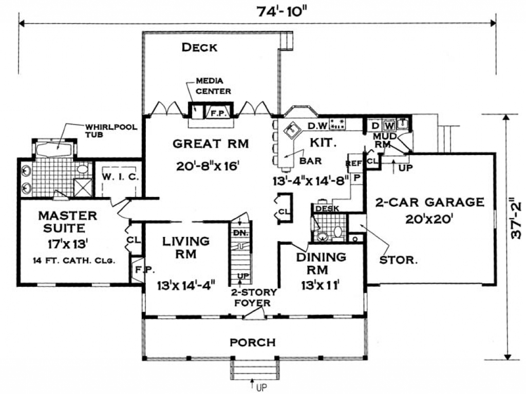 Large family house plans extended family house plans for Big family house floor plans