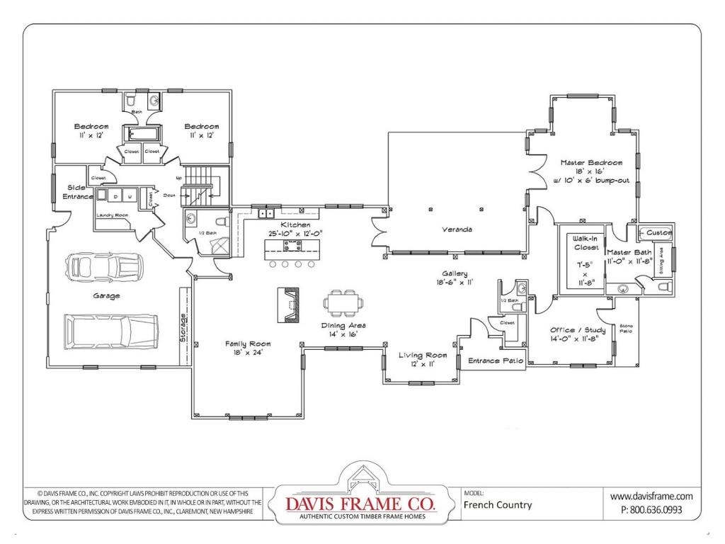 One story house plans with open floor plans one story for One story open concept floor plans