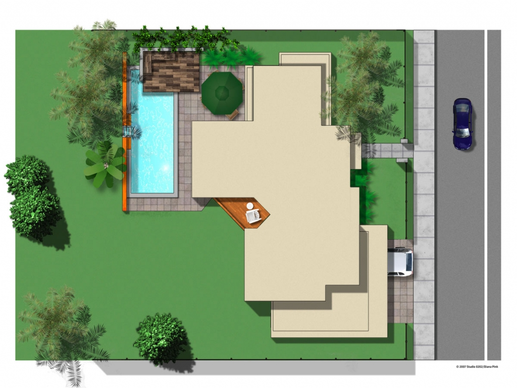 Residential plan view residential metal building floor for Program for building a house