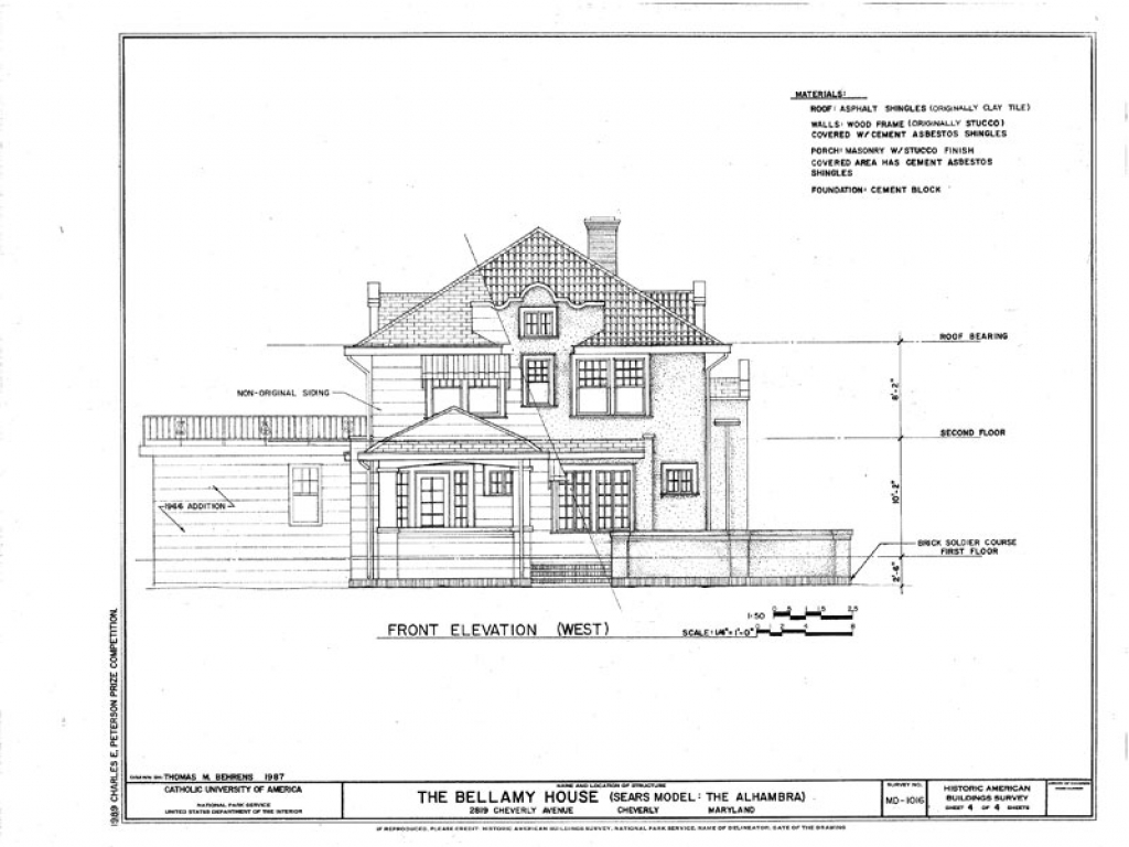 Sears mission style house plans mansard house style for Mission home plans