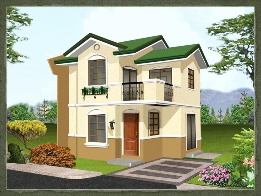 simple house designs philippines philippines house designs and floor plans lrg 7d11f973e2cc4663 - Download Small House With Second Floor Design In Philippines  Gif